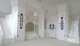 princess palace girls bed