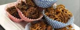 choc cornflake cake