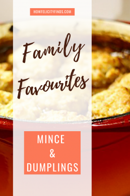 FAMILY RECIPES MINCE AND DUMPLINGS _ MINCE AND DOUGHBALLS _ COOKING WITH KIDS