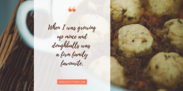 Family Favourites _ Mince and Doughballs Family Recipes _ Cooking with Kids