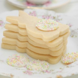Simply Perfect Vanilla Shortbread Bunnies