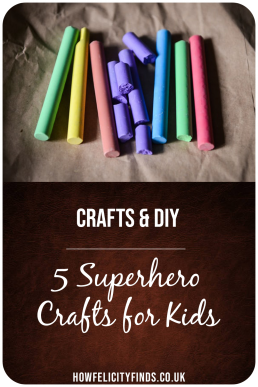 5 superhero crafts for kids