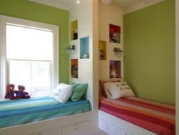 twin kids bedroom