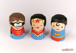 Superhero crafts for kids