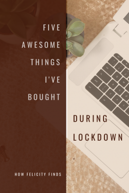 5 AWESOME THINGS I'VE BOUGHT