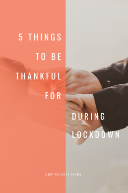 5 Things to be Thankful For