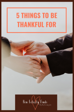 5 things to be thankful for pinterest