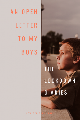 An Open Letter to my Boys
