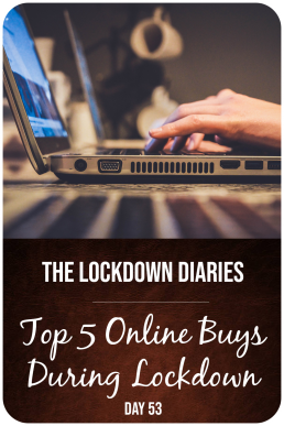 top 5 online buys during lockdown