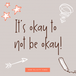 Fathers Day - Its okay to not be okay quote!