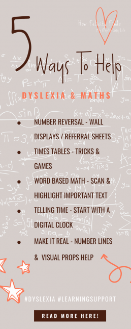 5 WAYS TO HELP WITH DYSLEXIA AND MATHS _ LEARNING SUPPORT _ DYSLEXIC ACTIVITIES _ DYSLEXIA