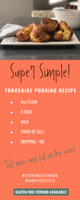 YORKSHIRE PUDDING RECIPE _ GLUTEN FREE YORKSHIRE PUDDING RECIPE _ COOKING WITH KIDS