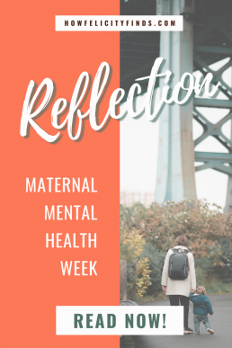 Maternal Mental Health Journey To Recovery How Felicity Finds